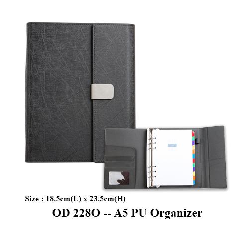 OD 228O — A5 PU Organizer
