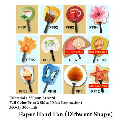 Paper Hand Fan
