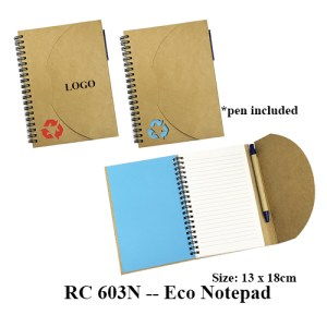 RC 603N Eco Notepad - RC 603N -- Eco Notepad