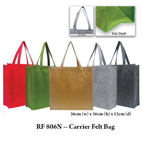 RF 806N — Carrier Felt Bag