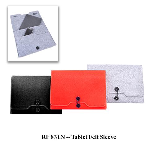 RF 831N — Tablet Felt Sleeve