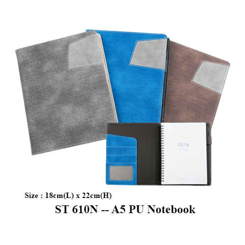 ST 610N — A5 PU Notebook