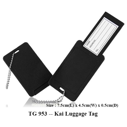 TG 953 — Kai Luggage Tag