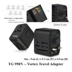 TG 998N Vortex Travel Adapter 1 - TG 998N -- Vortex Travel Adapter