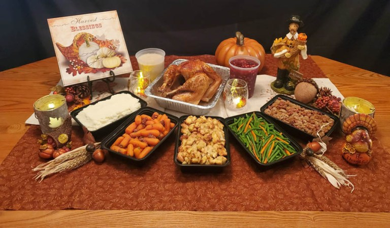 2020 Thanksgiving Catering Menu & Dinner Packages