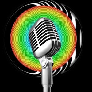 rainbow microphone