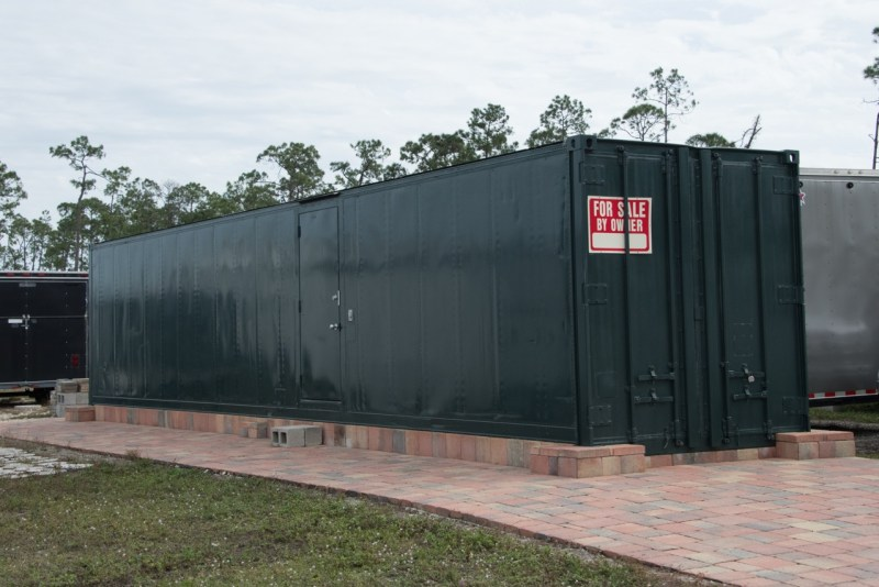One of a kind 45' storage container for sale