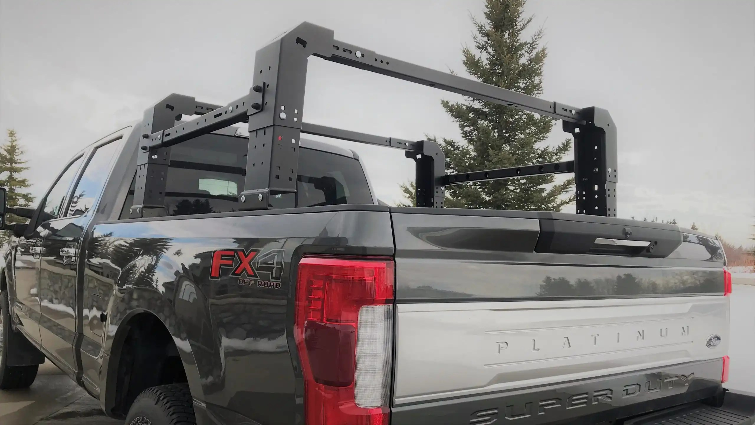 gonzo truck bed rack