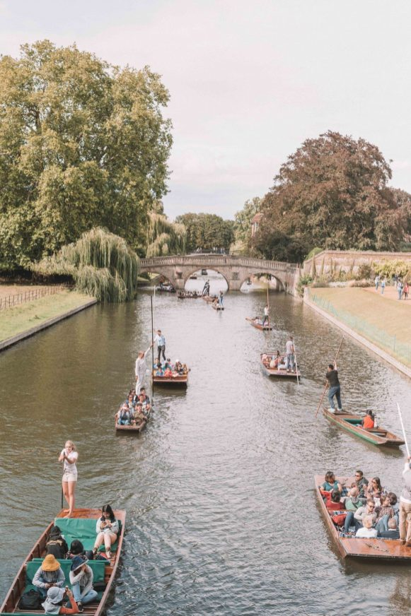 cambridge kings college punting