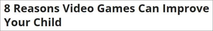press-headline-gaming-children