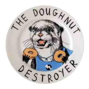 doughnut destroyer plate