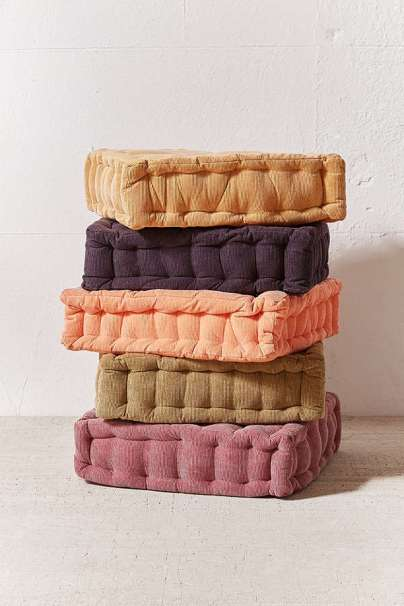Corduroy Floor Pillow - Urban Outfitters