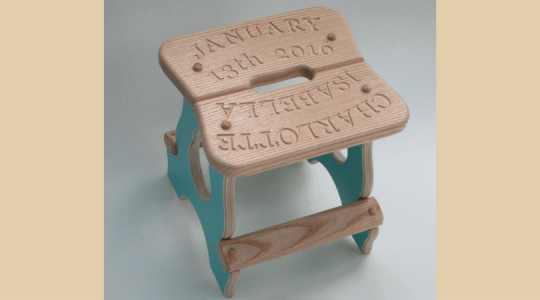 personalized kids room decor stool step