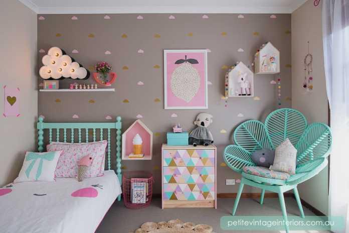 unicorn bedrooms drawer decals