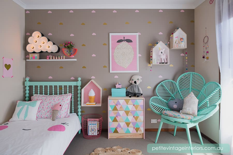 Unicorn Bedrooms Drawer Decals