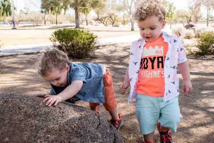 Spring Kids Style Park Play Rock Climbing