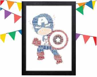 Personalized Captain America