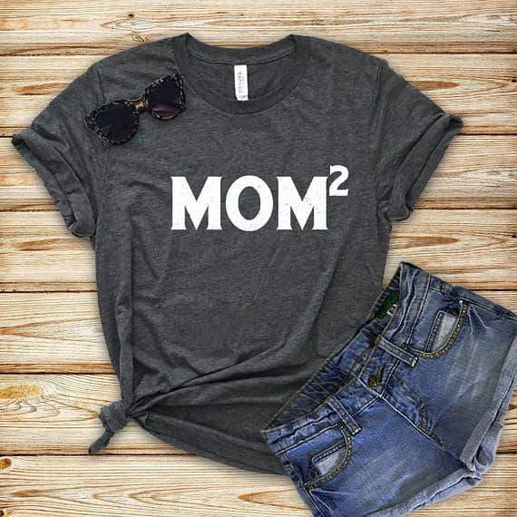 Mom Squared Tee