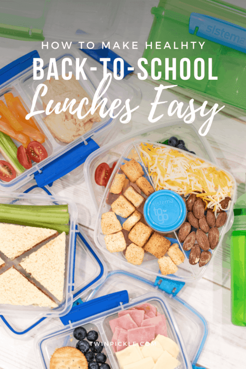 How to make healthy back to school lunches easy with Sistema