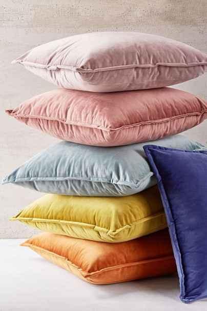 Velvet Throw Pillows