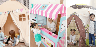 Kids' Indoor Play Tents and Playhouses