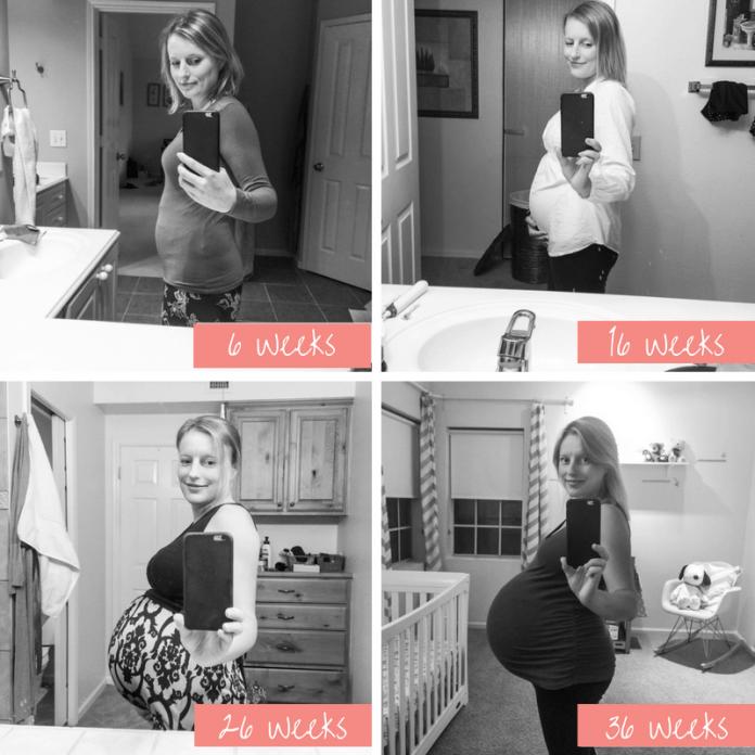 Twin Pregnancy Bump
