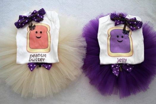Peanut Butter Jelly Tutus