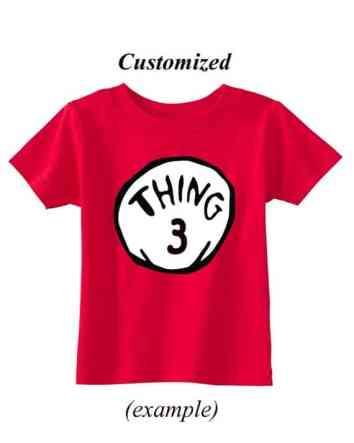 Customizable Thing 1/2 Tee