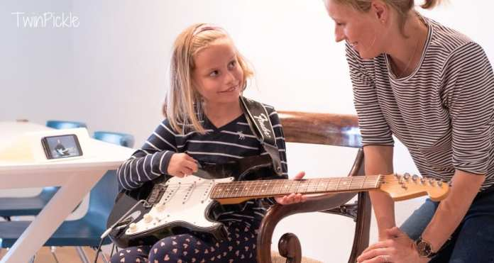 Learning guitar with Fender Play