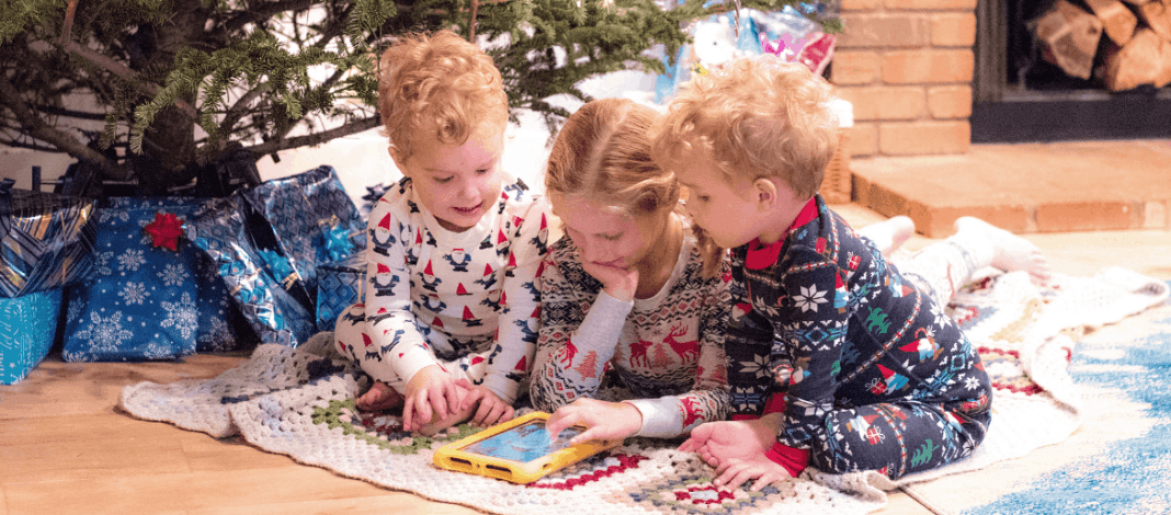 How to Keep Family Christmas Traditons Alive with Tech and Amazon Kindle Fire Kids