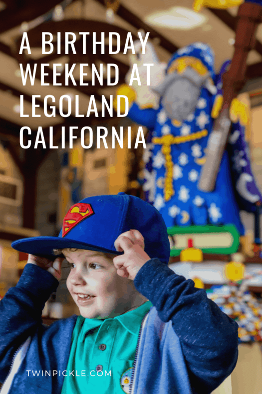A mom of three's review of the Castle Hotel at Legoland California
