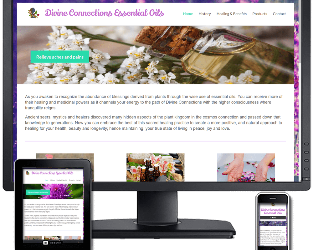 Divine Connections Essential Oils