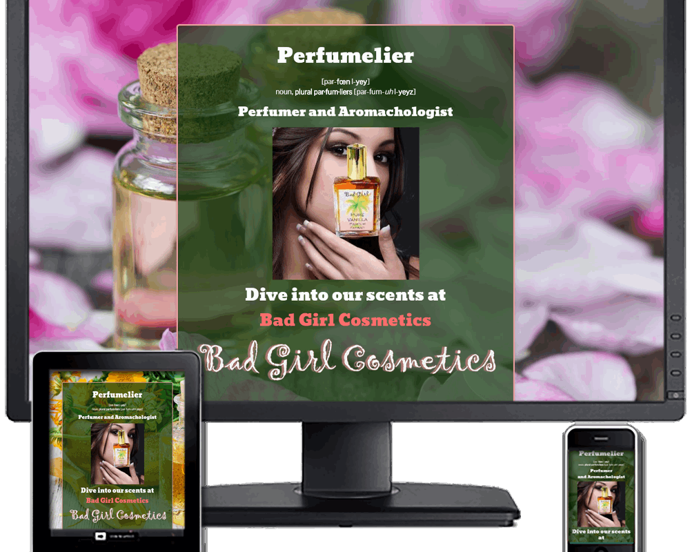 Perfumelier ~ Trained & Knowledgeable Perfumer & Aromachologist