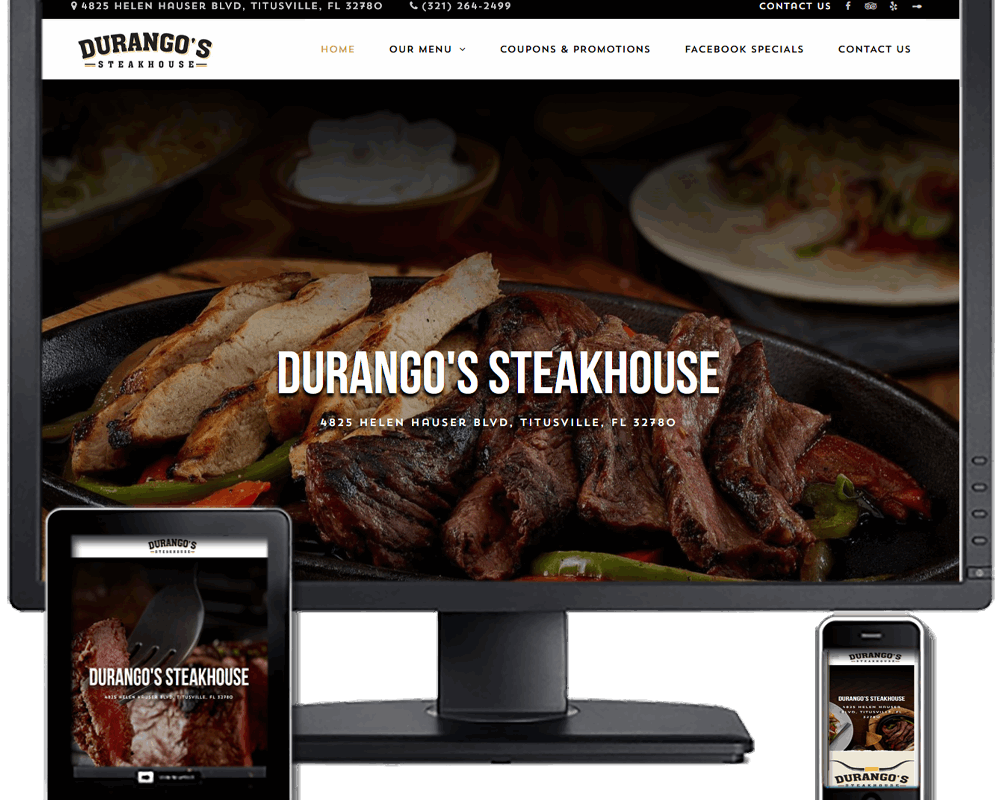 Durangos Steakhouse 3rd Redesign
