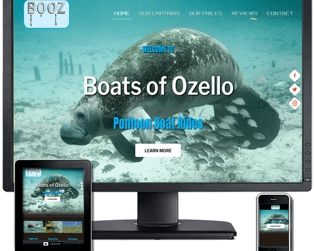 Boats of Ozello - Pontoon Boat Rides