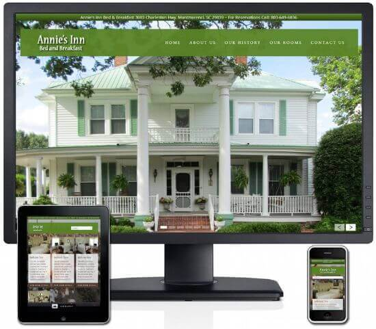 Redesign of Annie's Inn Bed and Breakfast