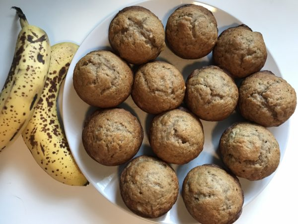 simple banana bread muffins
