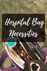 Hospital bag necessities for twin moms