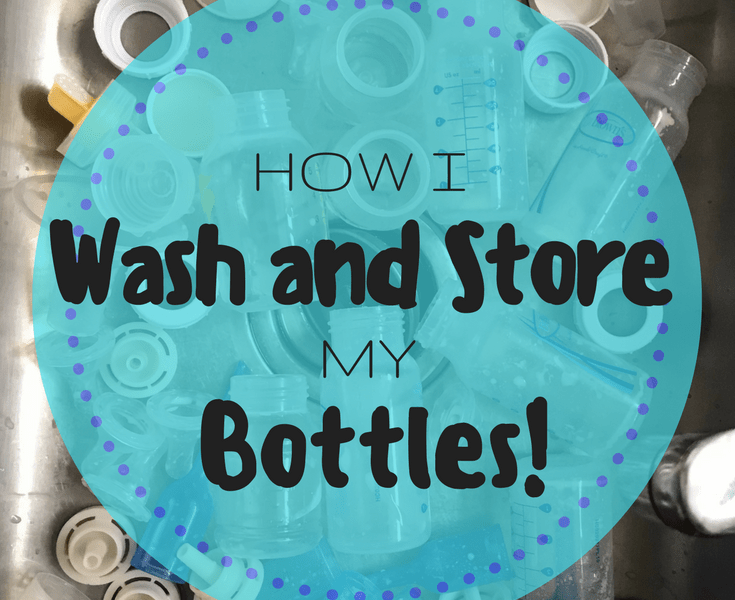 Washing and Storing Bottles for the Bottle Feeding Mom