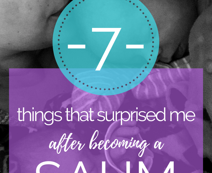 7 things that surprised me about being a sahm
