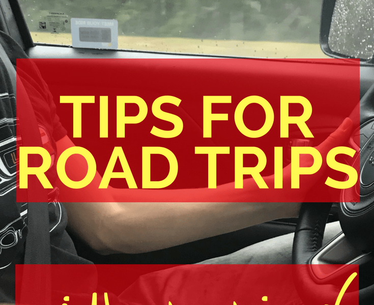 tips for road trips with twins