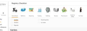 amazon baby registry how to