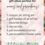Best DIY Gifts for Mom and Grandma