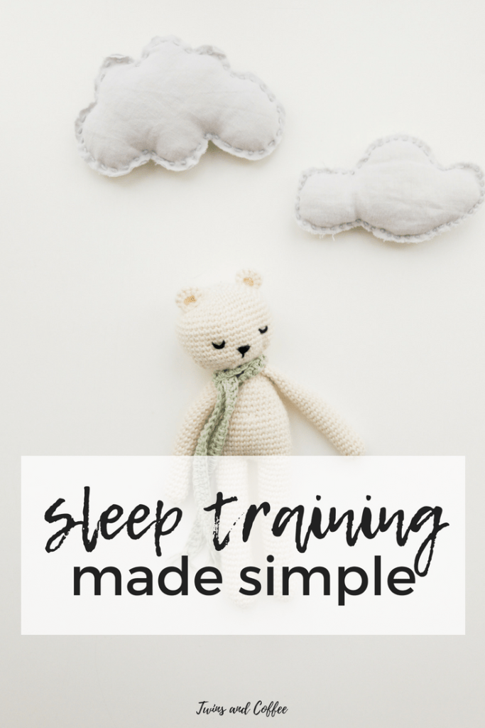how to guide for sleep training babies ad twins, how to get baby to sleep through the night