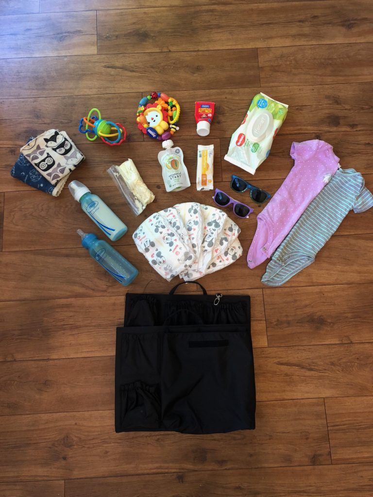 Diaper bag organization with tote savvy for new busy moms