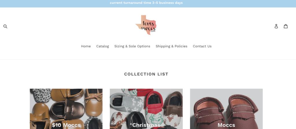 Shop small this holiday season with Texas Moccs
