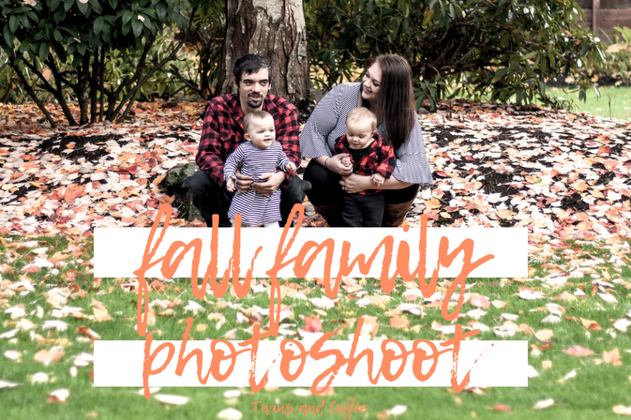2018 fall family pictures with photoshoot and family ideas as well as a black and white stripe and red plaid theme