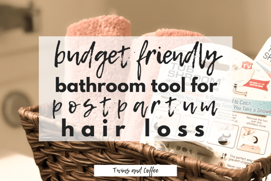 The perfect budget friendly and family friendly bathroom tool for postpartum hair loss and everyday hair loss to prevent bathroom tub clogs and costly plumber bills