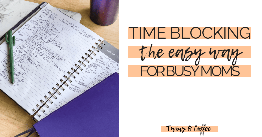 Easy guide to realistic time blocking schedules for busy moms. Motherhood is no walk in the park, take control of your motherhood with easy time blocking to do list scheduling.