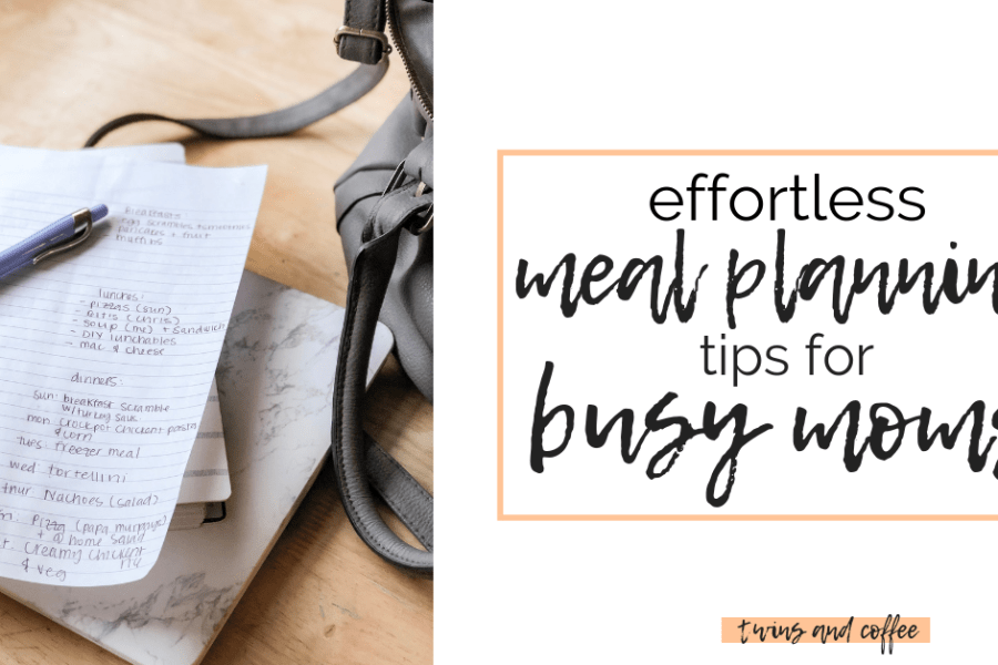 Tips and hacks for meal planning for busy moms and busy families. Take the guess work out of dinner with my hacks for meal planning